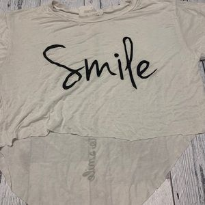 5 for $25 French Pastry Smile Crop top